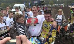 Bart Brouwer Nederlands Kampioen Motorcross Open Nationalen