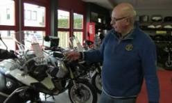 Showroom Arjan Brouwer-Putten April 2012. Motoren te koop!!!